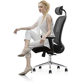 Amazon Com Duramont Ergonomic Adjustable Office Chair