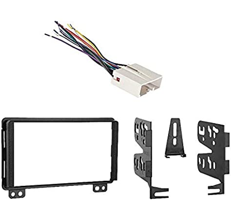 Amazon.com: Compatible with Lincoln Navigator 2004 2005 2006 w OE NAV & THX  Audio Double DIN Radio Harness Dash Kit: Car ElectronicsAmazon.com