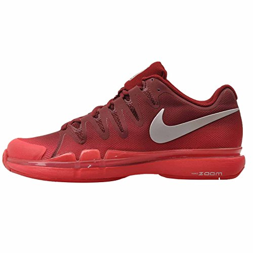 best loved 37f40 85df7 Nike WMNS Zoom Vapor 9.5 Tour 631475-602 Team Red Silver Women s Tennis  Shoes (8)