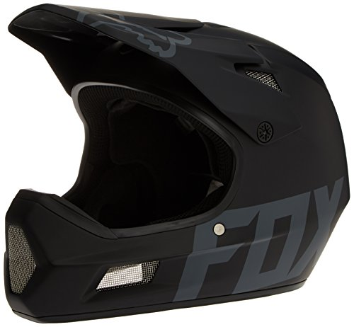 Fox Racing Rampage Comp DH Helmet: Matte Black SM