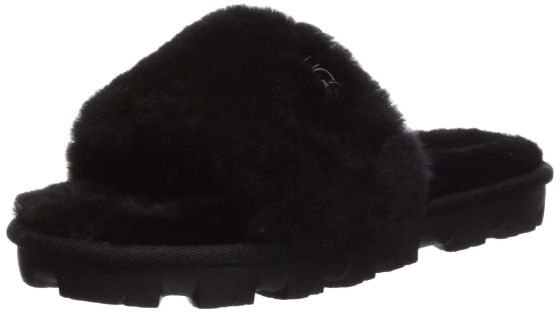 UGG Women's COZETTE Slipper, Black, 7 M US by UGG
