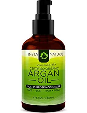 InstaNatural 100% Pure Argan (Our Best Oil For Sensitive Skin )