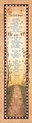 The Lord's Prayer (Matthew 6:9-13) by Linda Spivey 30x8 Art Print Country Church God Religion - Matthew Linda