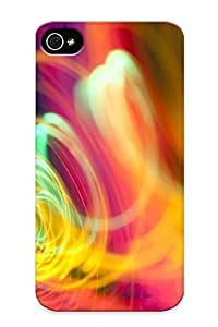 Trolleyscribe Premium Protective Hard Case For Iphone 4/4s- Nice Design - Abstract Multicolor