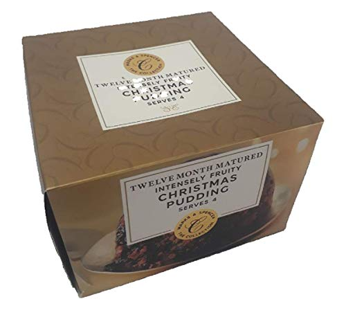 Pudding Christmas - Marks & Spencer Christmas Pudding - Twelve Month Matured Intensely Fruity - 454g (1 lbs)