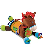 Save on Melissa & Doug 19222 Giddy-Up and Play Baby Activity Toy-Multi-Sensory Horse Colour and more