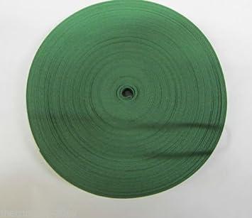 Rollo de cinta de algodón bies de 12,5 mm de ancho, color verde ...
