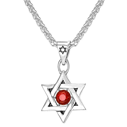 Pendant Jewish Jewelry Stainless Necklace