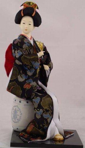 """12"""" Japanese GEISHA Oriental Doll ZS1030-12"""
