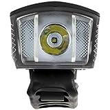 Farol Dianteiro Multilaser 190L com Buzina e Controle 1200mAh USB Preto - BI185