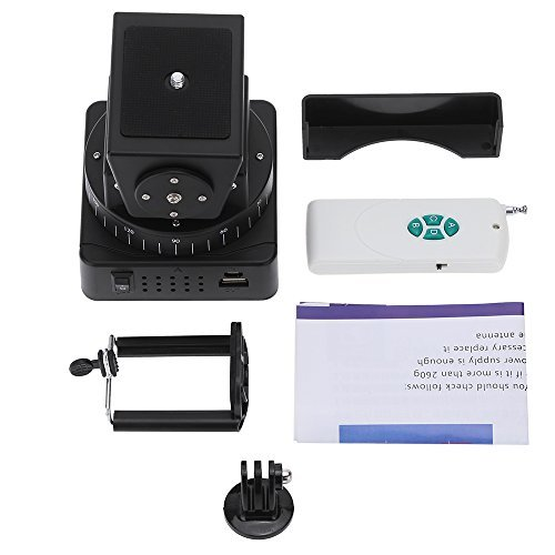 (Andoer Zifon YT-260 Remote Control Motorized Pan Tilt Head for Extreme Camera Wifi Camera and Smartphone)