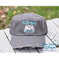 649893130b3 RZR Hair Don t Care with ATV High Ponytail Baseball or Trucker Cap