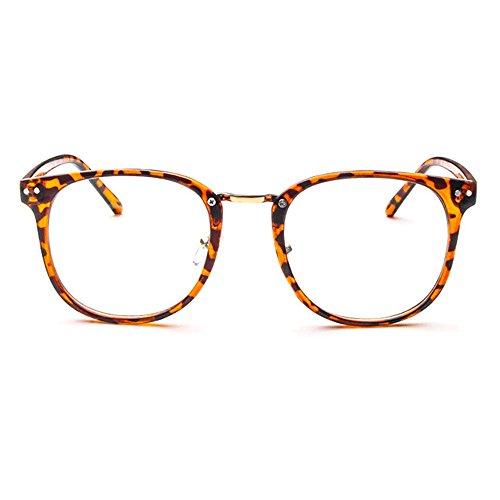 Forepin® Lunettes de Vue Vintage Verre Transparent Unisex pour Homme et Femme  Montures de Lunettes ... fb90177b671c