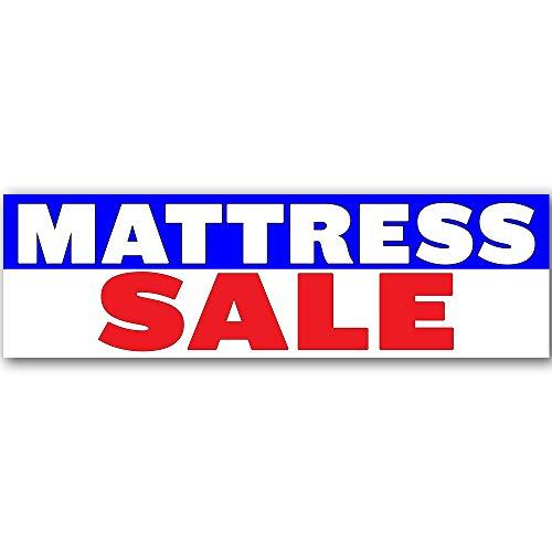Mattress Sale Vinyl Banner 10 Feet Wide by 3 Feet ()