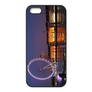 Custom Ferris Wheel Back Cover Case for iphone5,5S