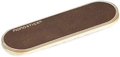 Balvi Soporte teléfono móvil Momostick Color marrrón Soporte y sujeción de Dedo para Smartphone Ajustable Adhesivo Plástico ABS/PU 8cm