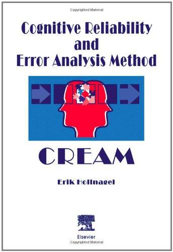 Cognitive Reliability and Error Analysis Method (CREAM)