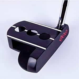 Dead Aim Mallet Putter RH 36 Inches Silver w/ Headcover
