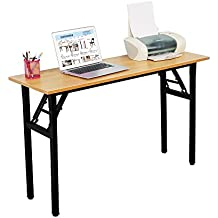Need Computer Desk 47L15.7W Foldable Computer Table with BIFMA Certification Writing Desk Folding Table Office Desk, AC5BB-40