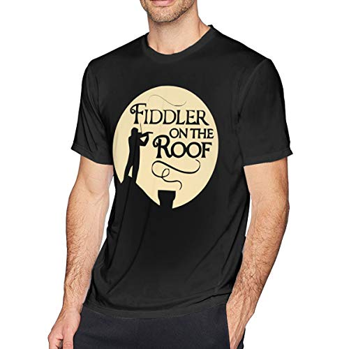 Eowlte Fiddler On The Roof Men's Classic Tee Black (Fiddler On The Roof Costumes)