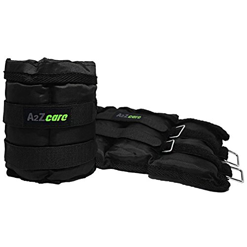 A2ZCare Adjustable Ankle/Wrist Weights for Men and Women  -