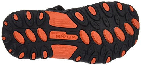 Merrell ml Hydro H2o, Zapatillas Impermeables para Niños Multicolor (Black/Gunsmoke/Orange)
