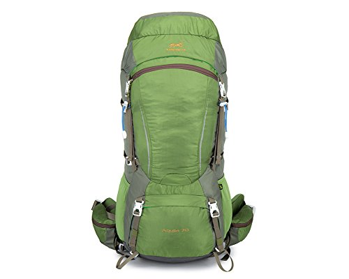 WATERFLY Hiking Backpack Ultra Light Water Resistant Travel Backpack Packable Hiking Daypack