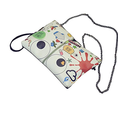 Transer Polyester Handbags & Single Shoulder Bags Women Zipper Bag Girls Hand Bag - Bolso bandolera  unisex adulto Mujer Hombre Niños unisex Niños, Image B (multicolor) - ZHY60831986 Image D