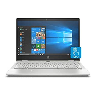 HP Pavilion X360 14-Inch Convertible Laptop, Intel Core I5-8265U Processor, 8 GB RAM, 1 TB Hard Drive & 128 GB Solid-State Drive, Windows 10 Home (14-cd1042nr, Mineral Silver) (Renewed)