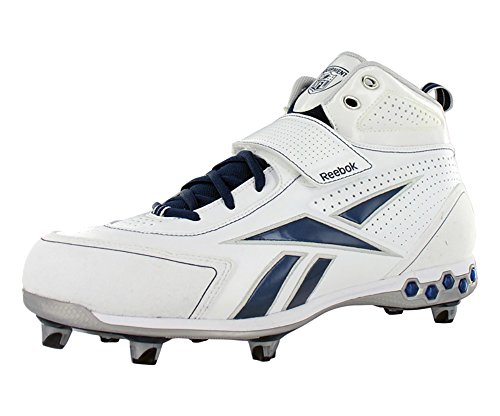 D Shoes navy White III Hex Football Reebok Men's Thorpe Pro gZwv7v