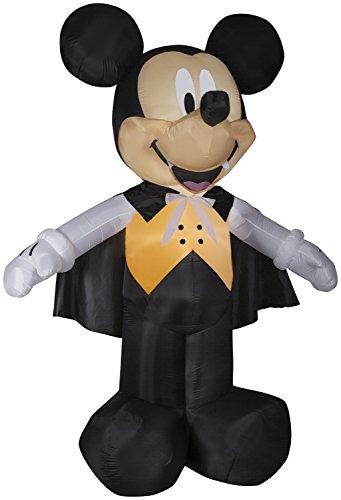 Gemmy 10' Giant Airblown Mickey Vampire in Orange Vest Halloween Inflatable -