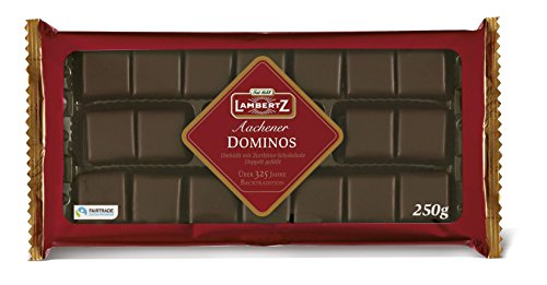 LAMBERTZ Chocolate Aachener Dominos, 250 GR