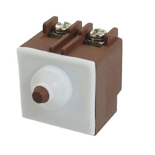 eDealMax AC 250V 5A SPST Momentary pour changer d'outil électrique Bosch meuleuse d'angle