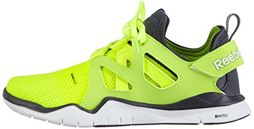 graphite white Donna Indoor gelb Tr Sportive Zcut Giallo Scarpe Reebok gravel solar Yellow XF4vqW