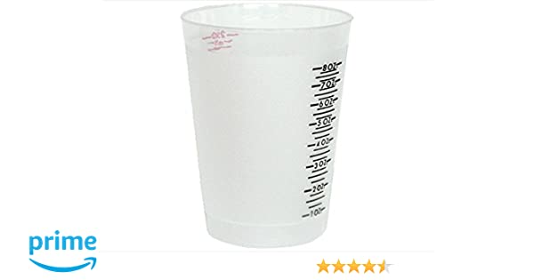 Comfortable And Easy To Wear Abn Clear Plastic Mixing Cup 100-pack 32oz Ounce 946ml Milliliter..