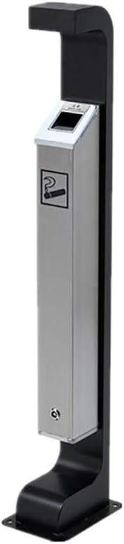 ゴミ箱 スタンド ゴミ箱ステンレス鋼タバコの柱ホテル灰皿屋外ロビーはエリア垂直タバココレクター喫煙できます 灰皿 (Size : #3)