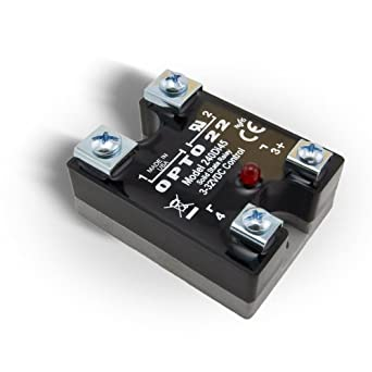 Opto 22 240Di45 DC Control Solid State Relay with LED Indicator 240