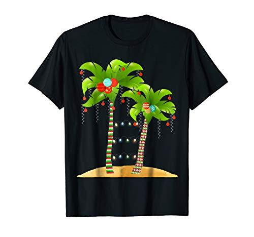 White Mug Hawaii (Christmas Tree Palm Shirt Mele Kalikimaka Hawaii Xmas TShirt)