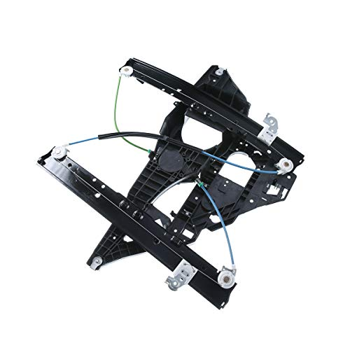 (A-Premium Power Window Regulator with Panel without Motor for Ford Expedition Lincoln Navigator 2003-2006 Front Left Driver)