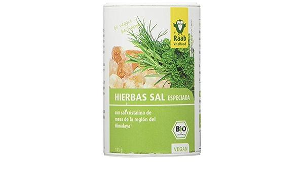 Raab - Sal del Himalaya - Hierbas bio - 175 g