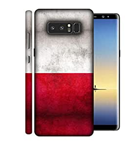 ColorKing Football Poland 02 Multi Color shell case cover for Samsung Note 8