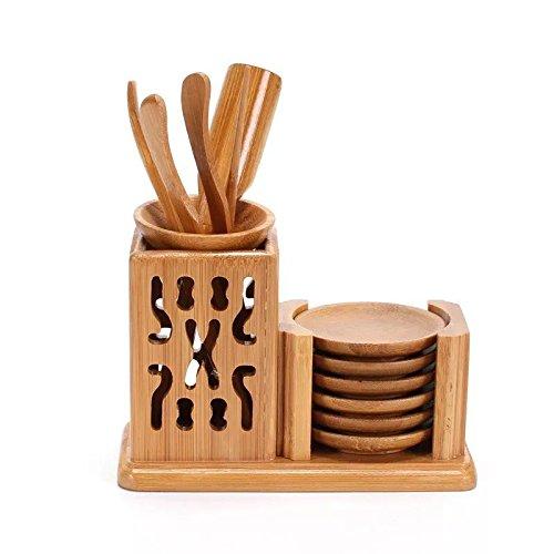 Astra Gourmet Bamboo Tea Accessories Chinese Gongfu Tea Ceremony Utensils Set