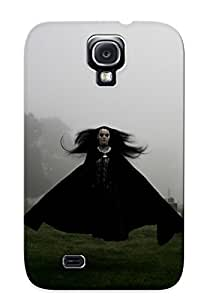 Yellowleaf Fashion Protective Girl Flying On Graveyard Gothic Case Cover For Galaxy S4