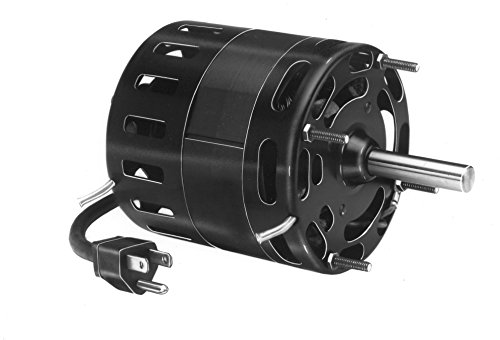 Fasco D1039 4.4-Inch Diameter Shaded Pole Motor, 1/10 HP, 115 Volts, 1500 RPM, 1 Speed, 3.1 Amps, CCW Rotation, Sleeve Bearing