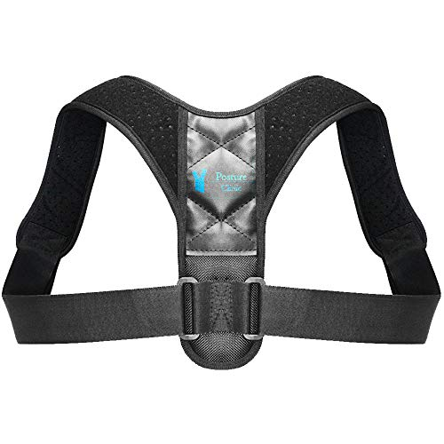 Posture Corrector for Men Women - Adjustable Shoulder Brace - Posture Correction and Alignment As Seen on TV Products,Provides Back Support and Back Pain Relief Under Shirts Support Belt