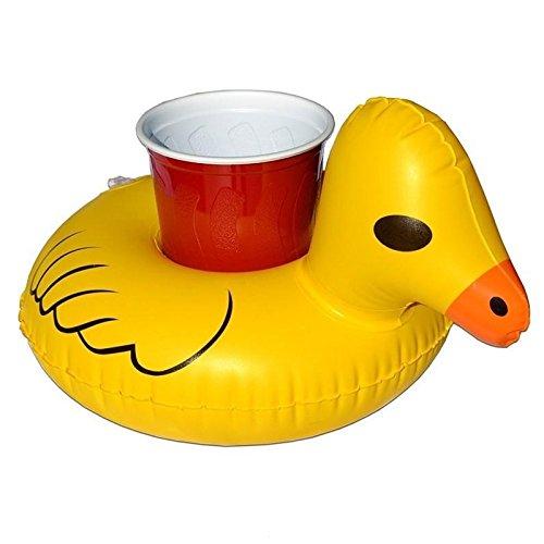 Wewoo Flotador Flotante Puerta Vaso Soporte para Bebidas en Forma Pato Amarillo Inflable Talla Gonflée: Aproximadamente 23 x 19 cm: Amazon.es: Deportes y ...