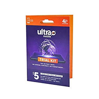 Ultra Mobile Trial Kit | Verify Compatibility with Our International Talk, Text & Data Plans
