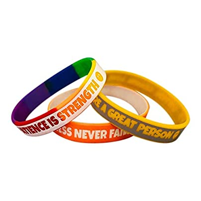 3L s Motivational Wristbands with Positive Behavioral Messages for Children Estimated Price £7.85 -