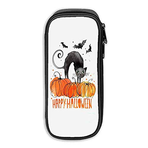 Pen Bag Happy Halloween Cat ipad 9 7 case with Pencil Holder -