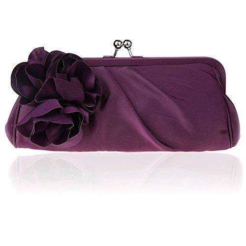 HT Fashion Evening bag - Cartera de mano para mujer negro